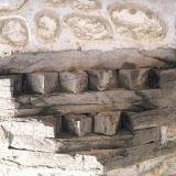 Kastoria mansions - a detail from the masonry of a mansion