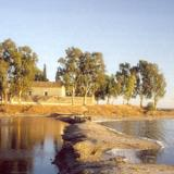 Messolongi Lagoon, Basilica of Foinikia-of-Messolongi - right in the heart of the lagoon, between Etoliko & Messolongi borders; nowadays church dates in 1804