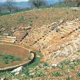Iniades, the ancient town theatre