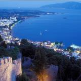 Nafpaktos - a panoramic view
