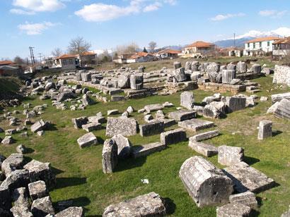 ancient arcadian city