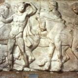 Parthenon, north frieze: Riders