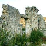 The ruins of St. Andreas Byzantine chapel (Ano Katelios)