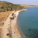 Panoramic view of Katelios Beach