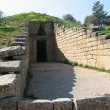 Mycenae: Entrance to the Treasury of the Atreus