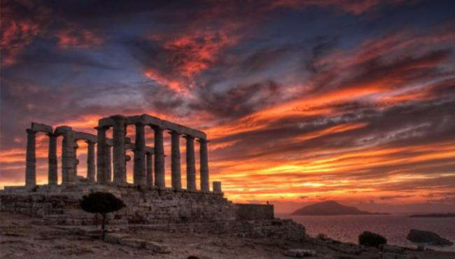 Temple of Poseidon at Sounion - GTP