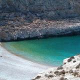 A beach in Folegandros