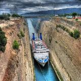 Isthmus Canal at Corinthos