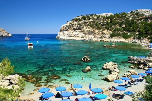 Anthony Quinn Bay ANTHONY QUINN (Beach) RODOS