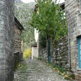 Made of stone: View of an alley in Tsepelovo