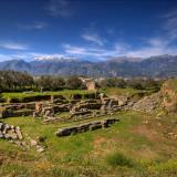 Sparta, ancient theater.
