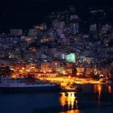 Igoumenitsa port by night