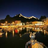Myrina by night, Limnos