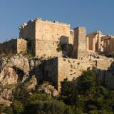 Panoramic view of Acropolis from Areopagus hill