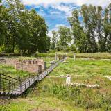 Isis sanctuary in Dion Archaeological site