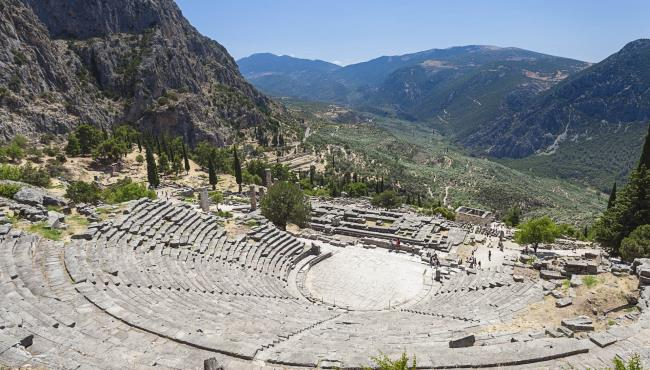 Archaeological Site of Delphi - GTP