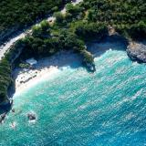 Aerial View to Mylopotamos beach