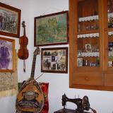 Musical instruments at the Traditional House of Antimachia