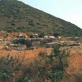 The Minoan shrine in Anemospilia at the base of Mount Youktas