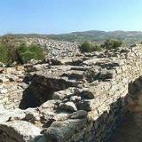 The Minoan cemetery above the town of Arhanes