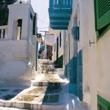 Narrow street at Nissyros town