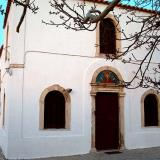 Church at Zia settlement