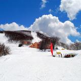 A view of the ski centre