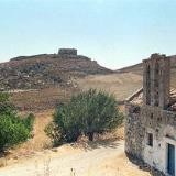 The Venetian castle and Agii Apostoli and the Panagia Church