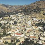 The village of Kalamafka viewed from Stavros Chapel