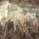 A fresco in Sotiras Christos Church, Kefali