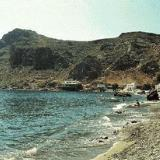 Lendas beach and the lion-shaped peninsula
