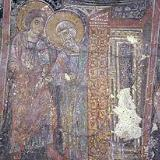 A fresco in Michael Archangelos Church in Asomatos