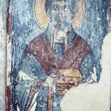A fresco in the 14C church of the Panagia in Demblohori, Mourne