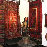 Exhibition of traditional weaved clothes