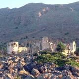 The Turkish castle on Akrotiri Mouros, Loutro