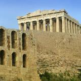 The Parthenon and part of Herod Atticus' Odeon