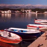 Rowboats at Almyrida port
