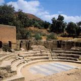 Gortys, ancient theater