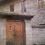 Detail of a house in Metsovo