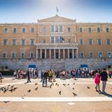 The Hellenic Parliament building (old Palace)