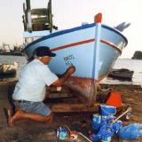 Amarynthos, a native fisherman names his boat