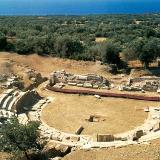 Archaeological site of Maronia, ancient theatre