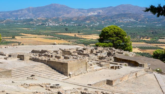 Αρχαιολογικός χώρος Φαιστού - GTP
