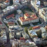 Prefecture of Serres, aerial photo