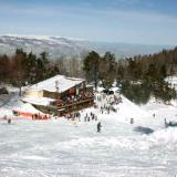Elatochori, the ski centre from high above