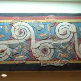 Fresco from the Archaeological Museum of Mycenae