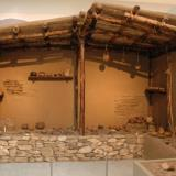 Reconstruction of a Neolithic house (Archaeological Museum of Karditsa)