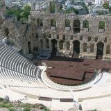 After its extensive restoration, Herod's Odeon has revived as a cultural venue, mainly of the Athens Festival