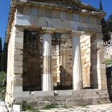 The Treasury of the Athenians at Delphi