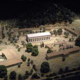 Altis, the sacred precinct of Zeus at Olympia (model)